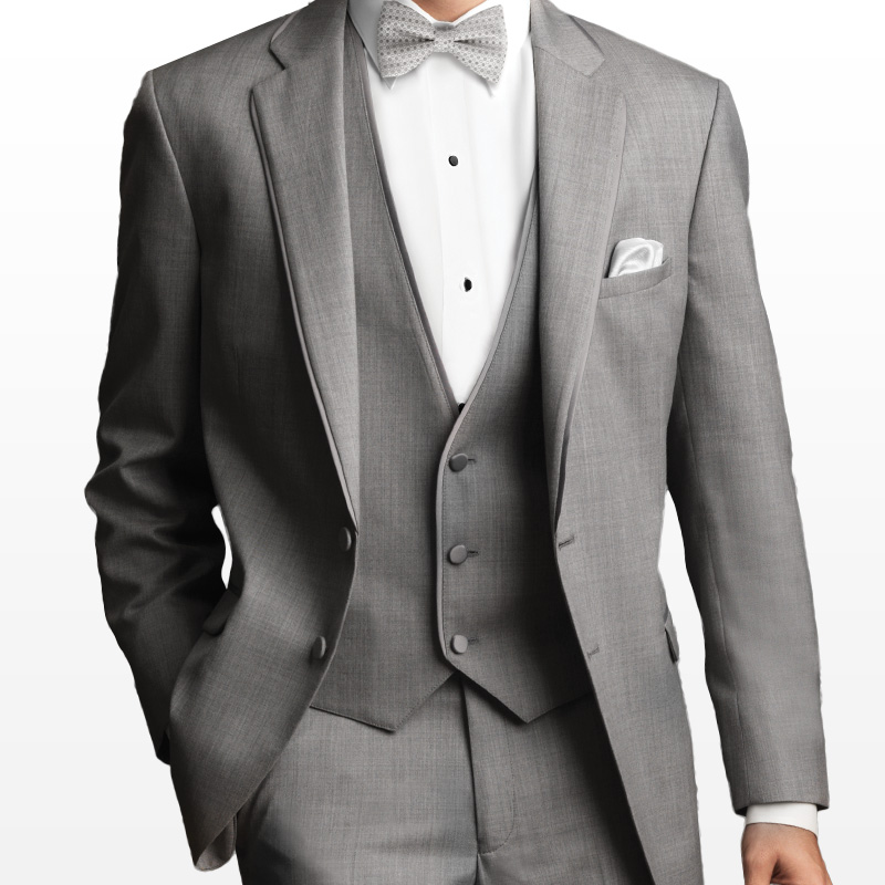 Gray Tux Wedding: Allure Notch