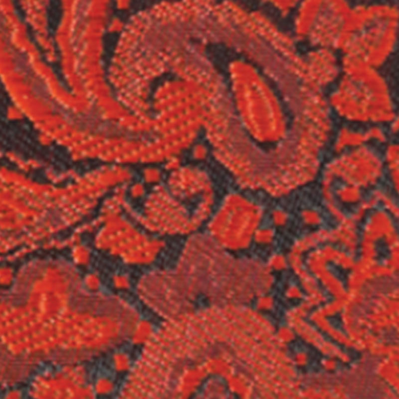 persimmon modern solid paisley accessory option