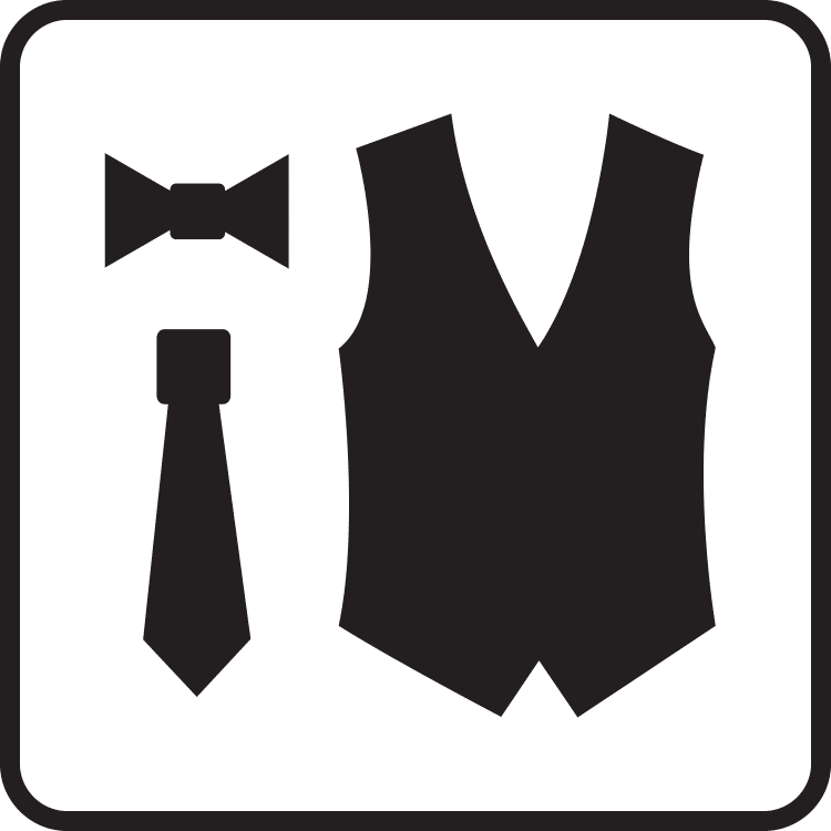 tuxedo accessories and colors category button