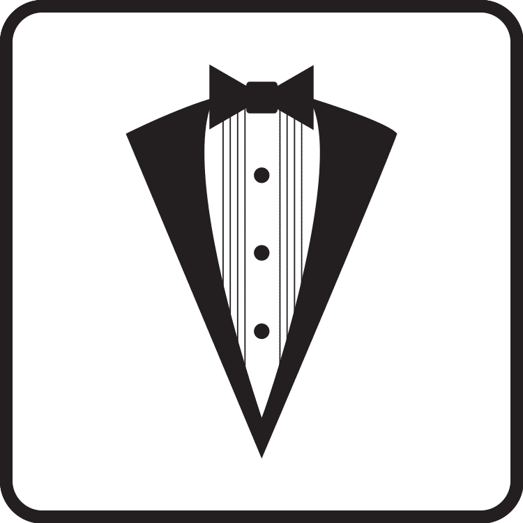 tuxedo styles category button