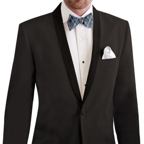 black david tutera tuxedo jacket