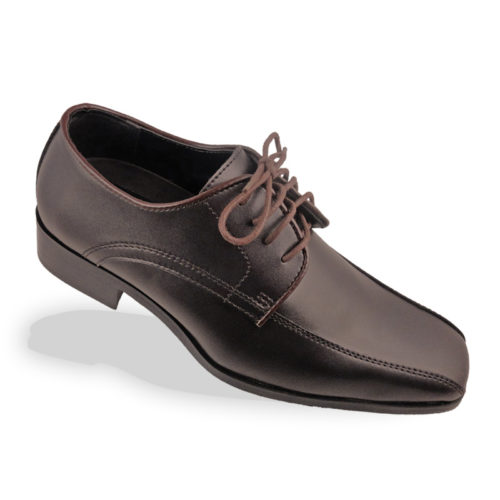 brown matte shoes