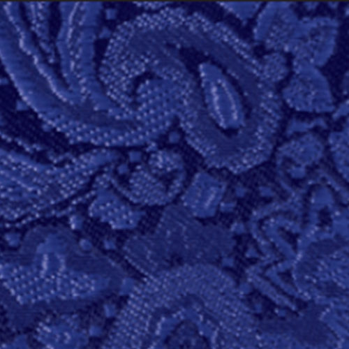 royal blue modern solid paisley accessory option