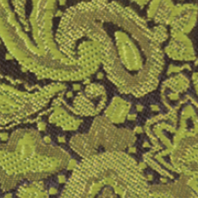 apple green modern solid paisley accessory option