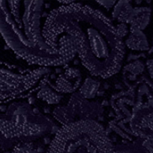 dark navy modern solid paisley accessory option