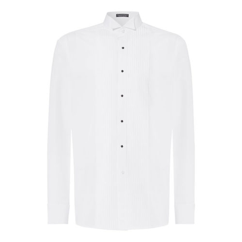 ttt pleated wing shirt