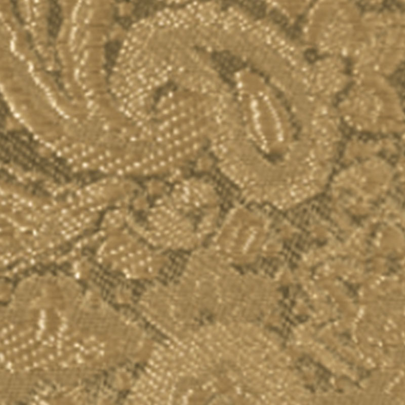 gold paisley modern solid accessory option