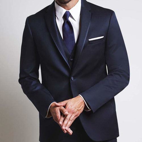 midnight blue michael kors tuxedo jacket