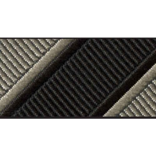 allure stripe black tan accessory option
