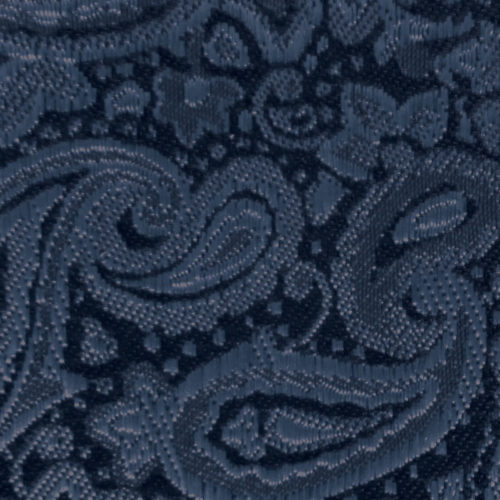 steel blue paisley modern solid accessory option